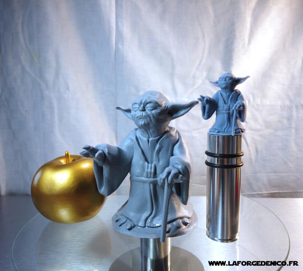 Statue de Yoda imprimée en résine 3D Dji_0020