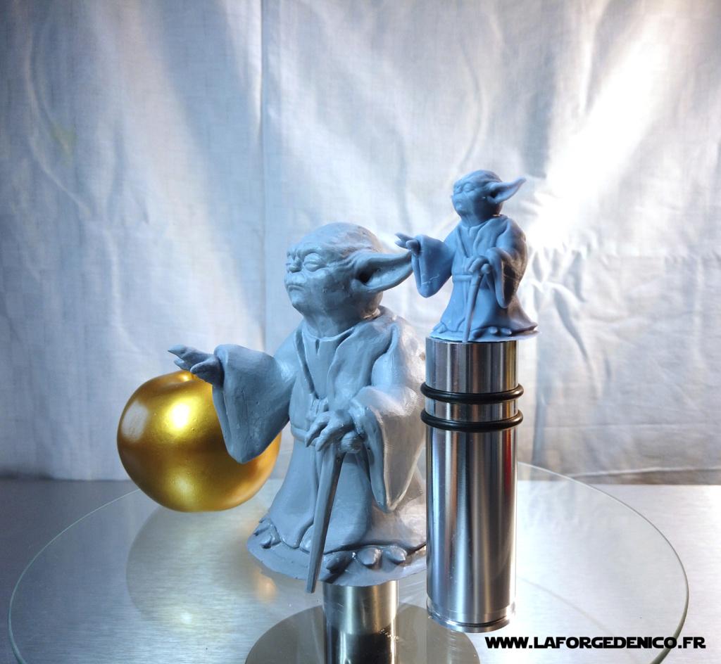 Statue de Yoda imprimée en résine 3D Dji_0021