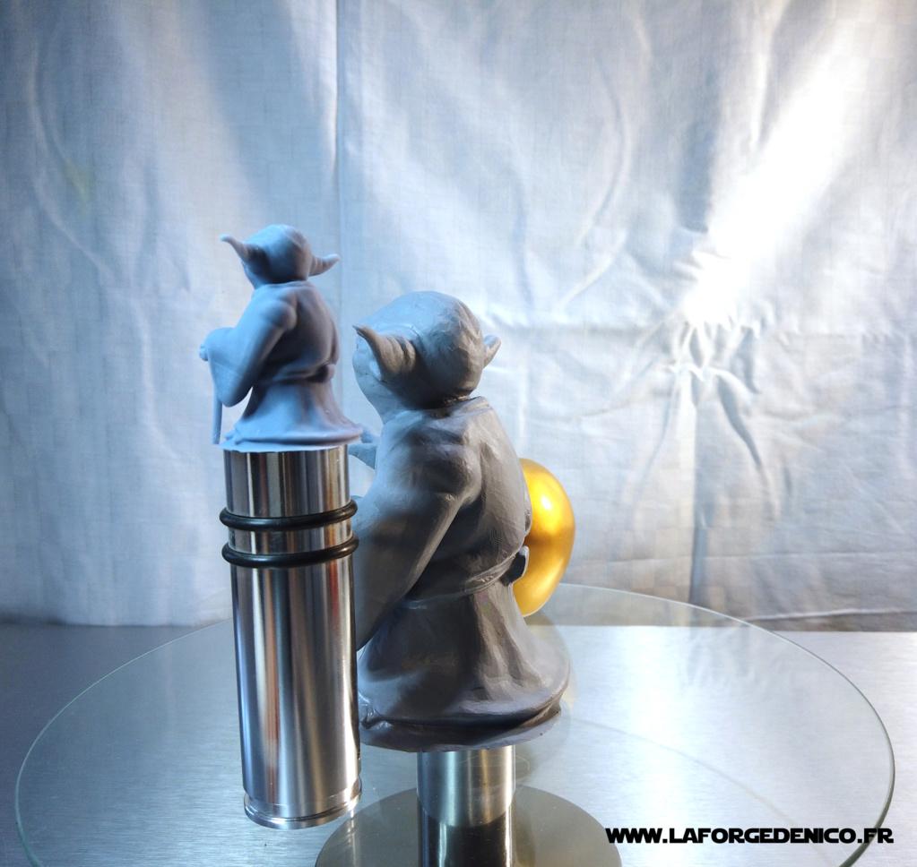 Statue de Yoda imprimée en résine 3D Dji_0023