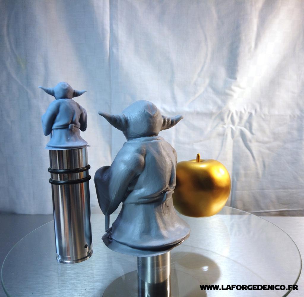 Statue de Yoda imprimée en résine 3D Dji_0024