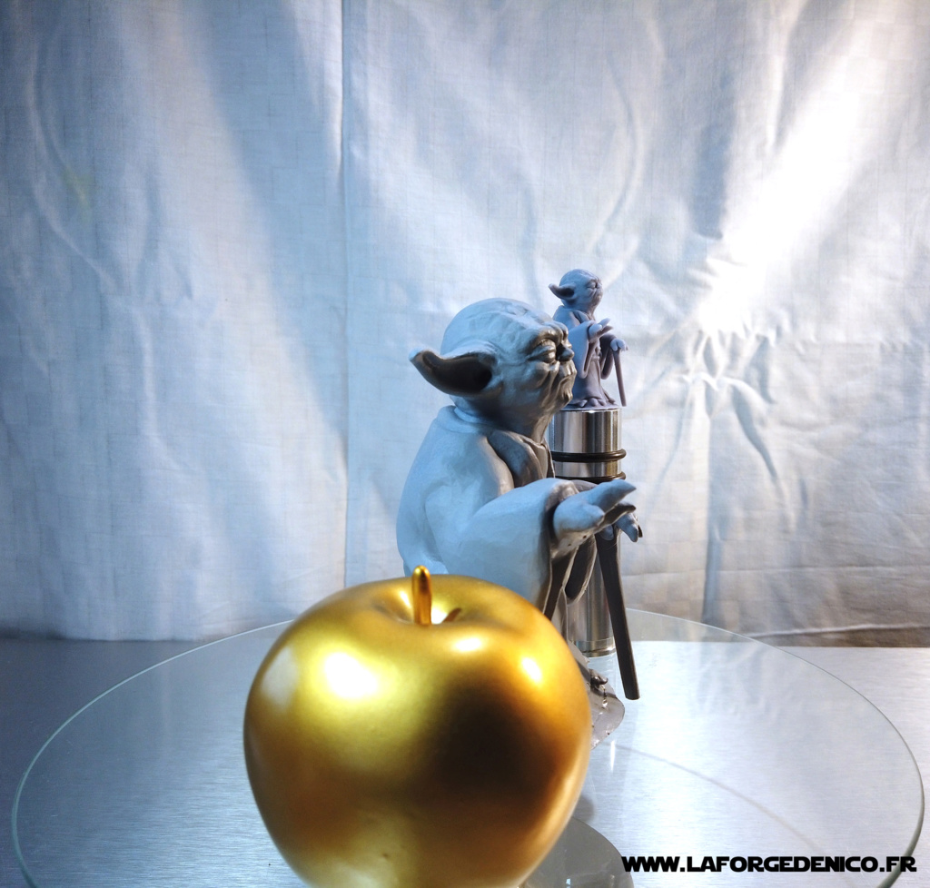 Statue de Yoda imprimée en résine 3D Dji_0027