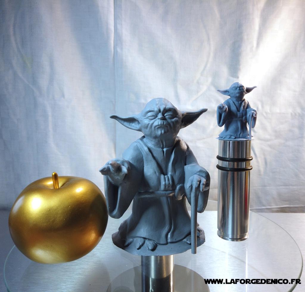 Statue de Yoda imprimée en résine 3D Dji_0029