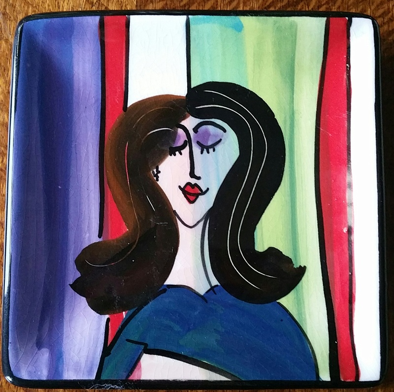 plate - Kevin kilsby square plate 20161131