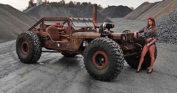 Mon Jeep a l'échelle 1/10  Jeep-w10