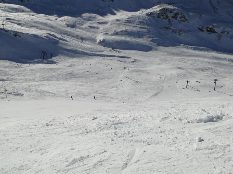 [Val d'Isère] Données sur les pistes Dsc05123