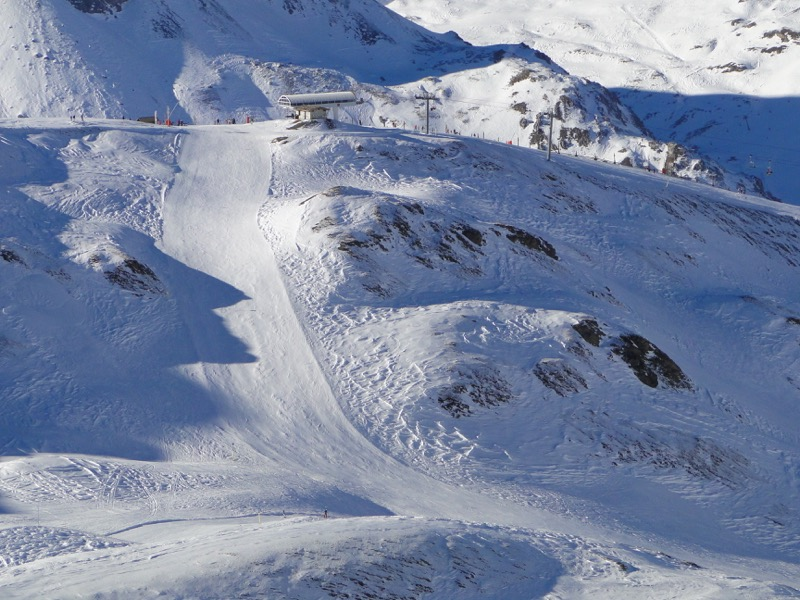 [Val d'Isère] Données sur les pistes Dsc05236