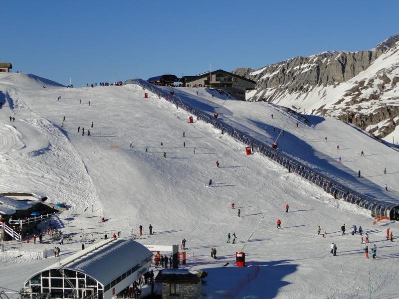 [Val d'Isère] Données sur les pistes Dsc05239