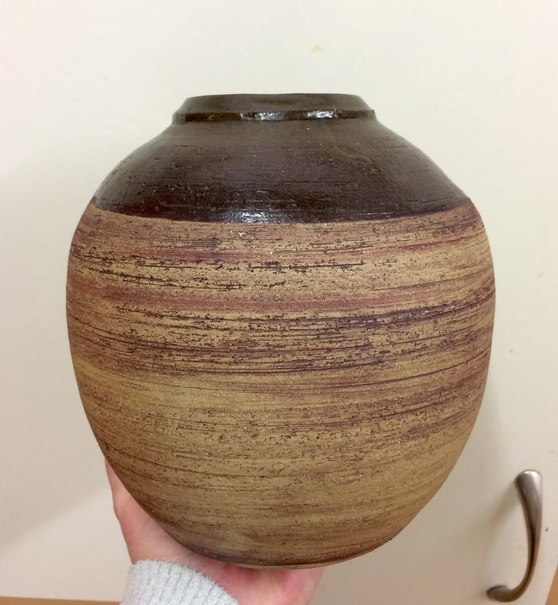 Vase with TV mark Img_0110