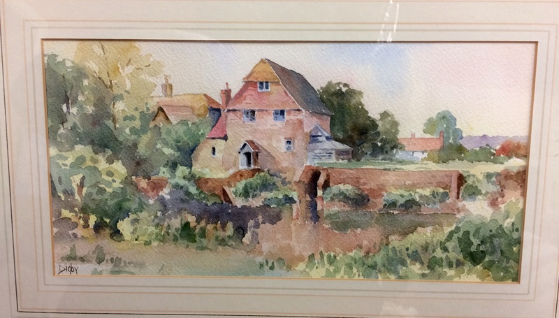 English watercolour signed Digby Img_0612