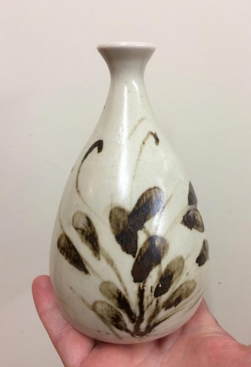 Unmarked bud vase  Img_4310