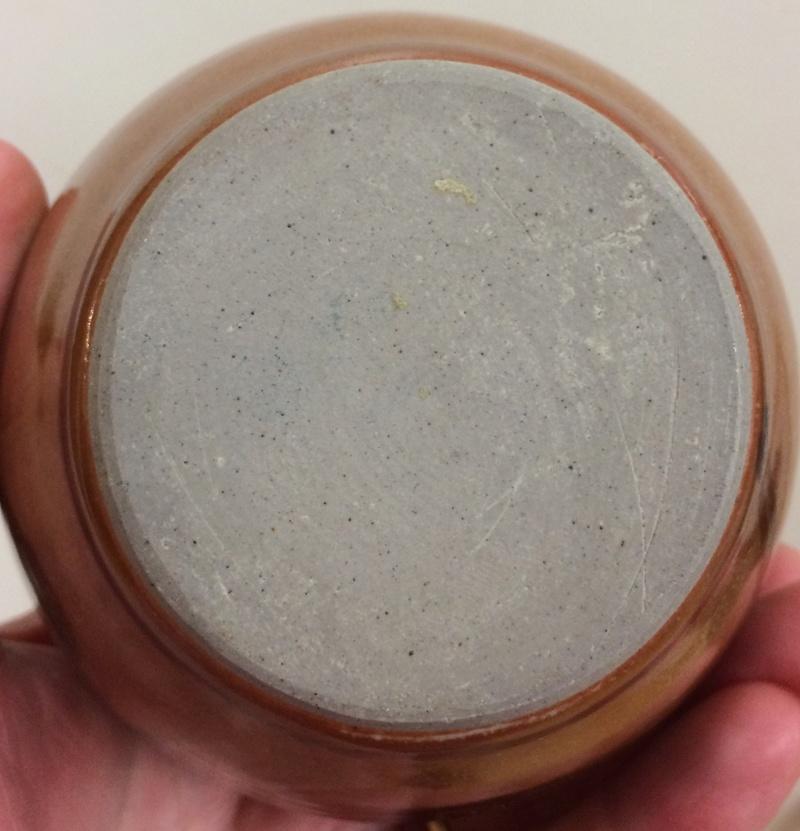 Small vase with kaki glaze - Eeles?  Img_4918
