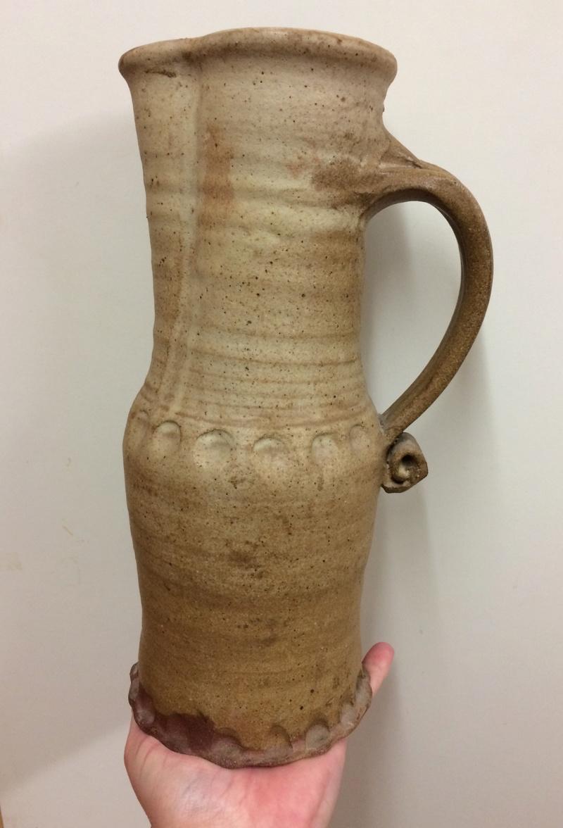 Tall stoneware jug Img_5214