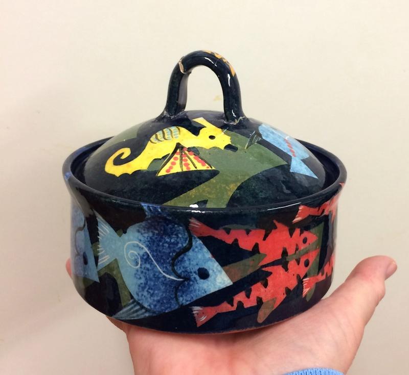 Pru Green, Gwili and Wivenhoe Potteries Img_9811