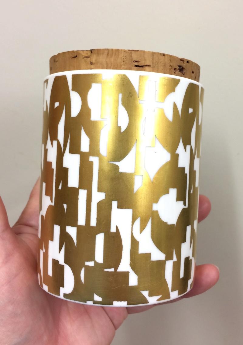 Pair of Grille storage jars - Designer Colin Haxby Img_9912