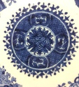 19thC Chinese-export porcelain, Fitzhugh pattern  Img_4618