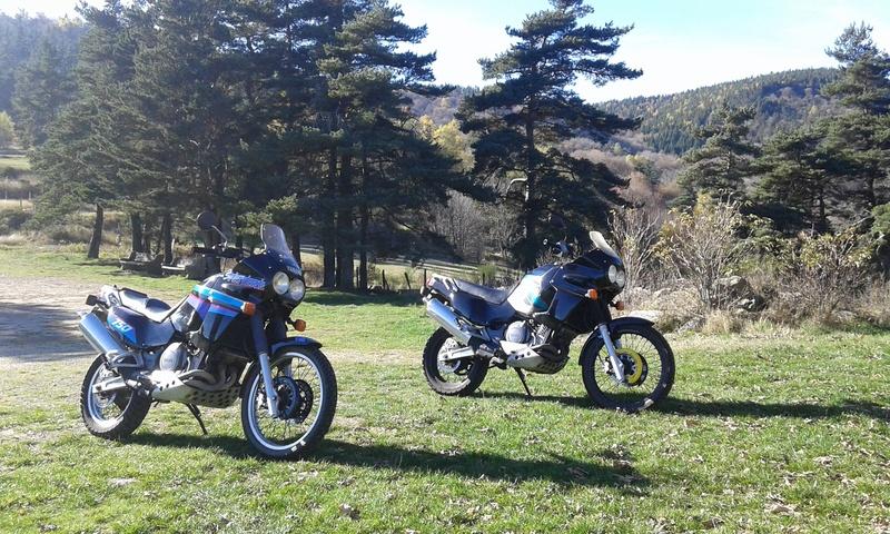 Ballade à deux Super T ... 750 de 1989 et 1990 20161111