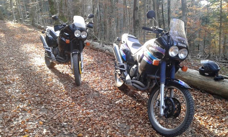Ballade à deux Super T ... 750 de 1989 et 1990 20161118