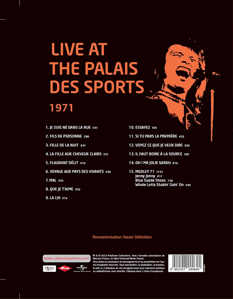 Volume 64 Palais des Sports 1971 Jhcoll19
