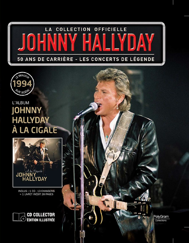 Volume 65 Johnny à La Cigale 1994 Jhcoll28