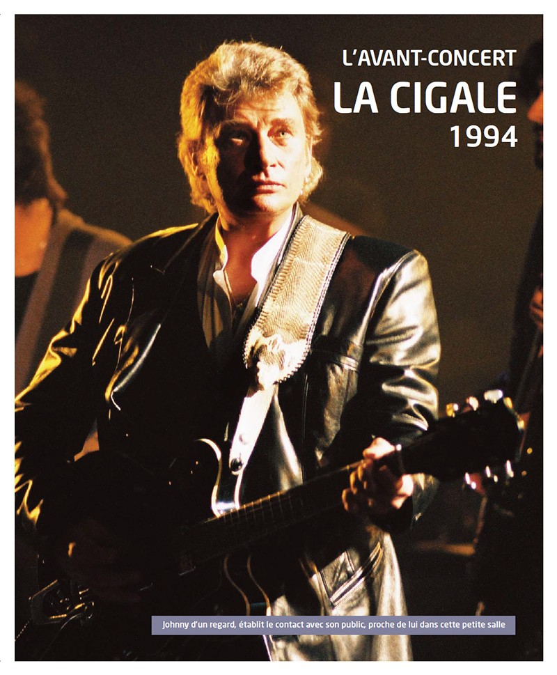 Volume 65 Johnny à La Cigale 1994 Jhcoll30