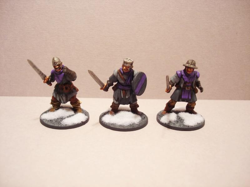 ( A vendre )  Une bande pour Frostgrave peinte, Nécromant power! Fg310