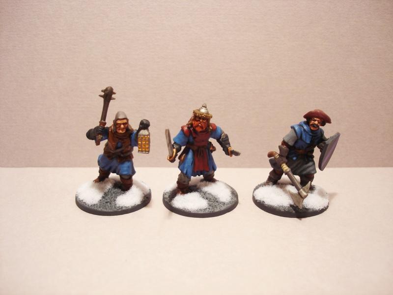 ( A vendre )  Une bande pour Frostgrave peinte, Nécromant power! Fg410