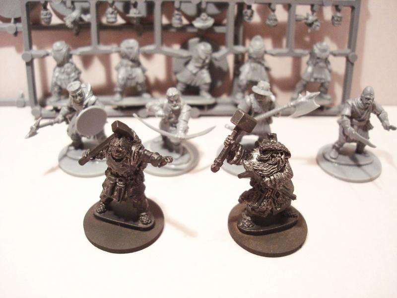 ( A vendre )  Une bande pour Frostgrave peinte, Nécromant power! Fg510