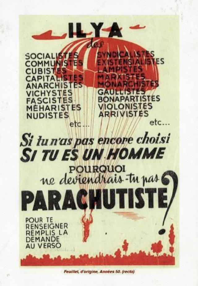 Le parachute pendant la Grande Guerre . Affich10