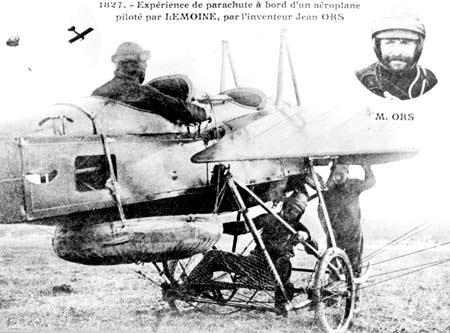 Le parachute pendant la Grande Guerre . Articl10