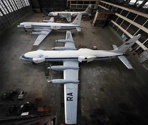 L'aviation militaire russe a reçu son premier avion de guerre électron Il22-210