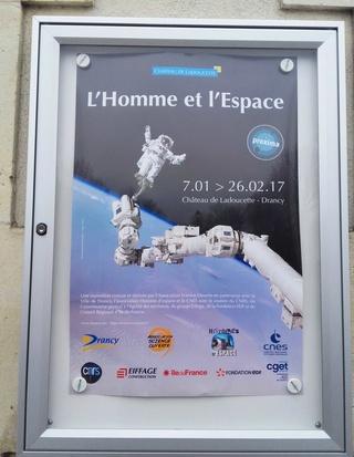 [Expo] L'Homme et l'Espace - 7 janvier au 26 février 2017 - Drancy (93) 20170113