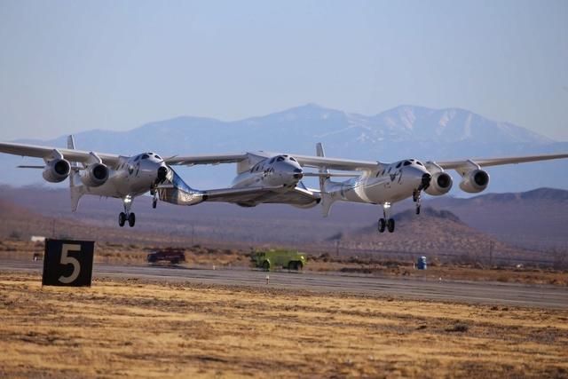 [SpaceShipTwo] Roll-out du prototype n°2 annoncé pour le 19 février prochain et préparatifs au 1er vol Cyiykk10