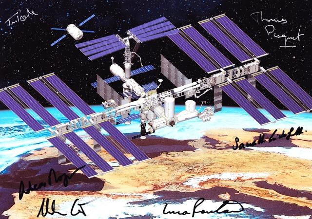 J-7 pour Thomas Pesquet - Mission Proxima / 17 novembre 2016 Groupe10