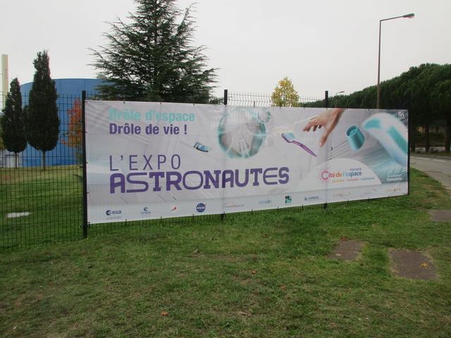"""[Expo] """"Astronautes"""" à la Cité de l'Espace de Toulouse jusqu'à fin 2018 Img_6710"""