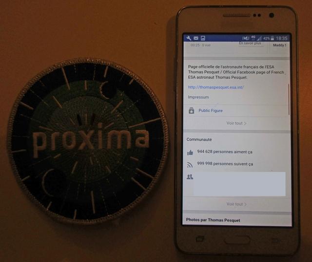 Mission Proxima - Encouragements à Thomas Pequet / #AllezThomas #Proxima - Page 4 Img_9219
