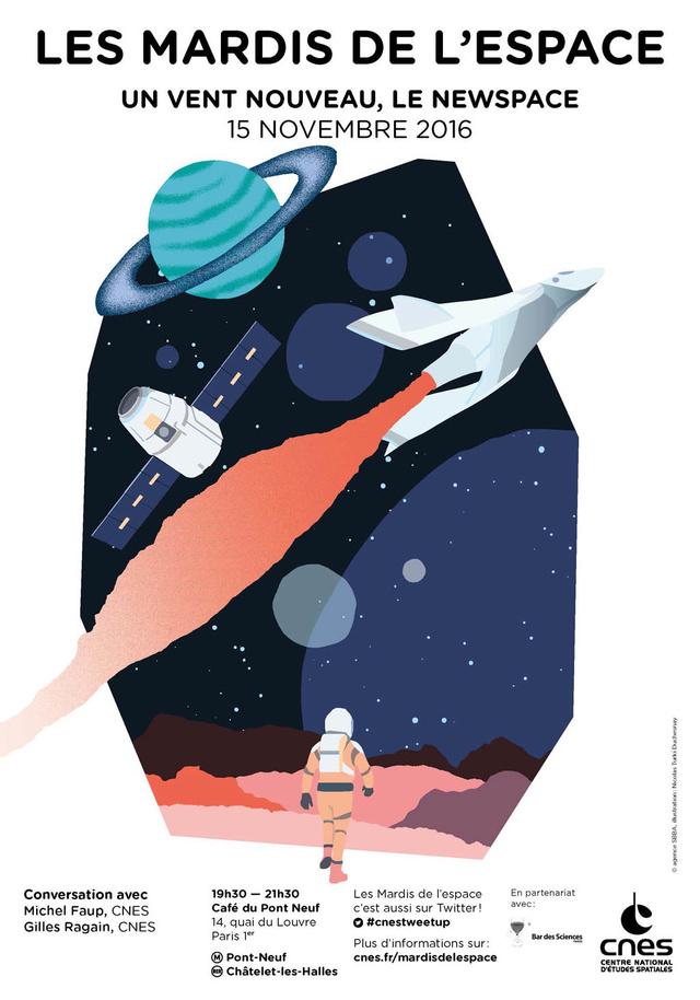 15 novembre 2016 - Conférence (les mardis de l'espace) - Le NewSpace Is-mar10