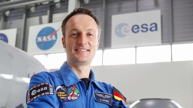''Etat des forces'' du corps des astronautes de l'ESA - 2017 / Matthias Maurer Maurer10