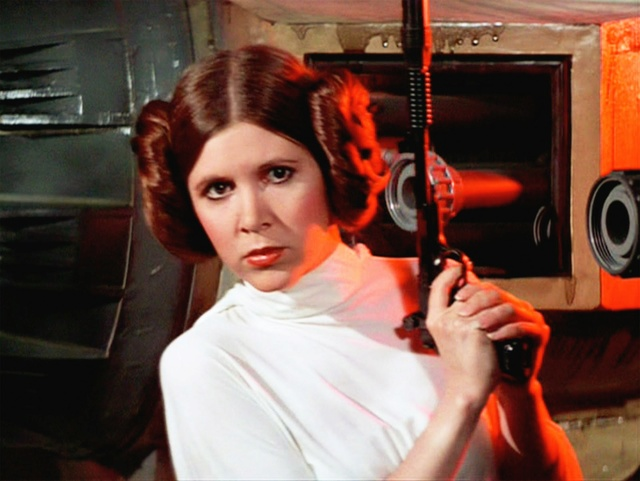 Disparition de Carrie Fisher (1956 - 2016), inoubliable Princesse Leia Prince10