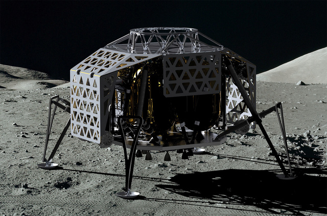 NAIAS 2016 - Salon Automobile de Détroit / Audi Lunar rover et Gene Cernan / Google Lunar XPrize Pts_310