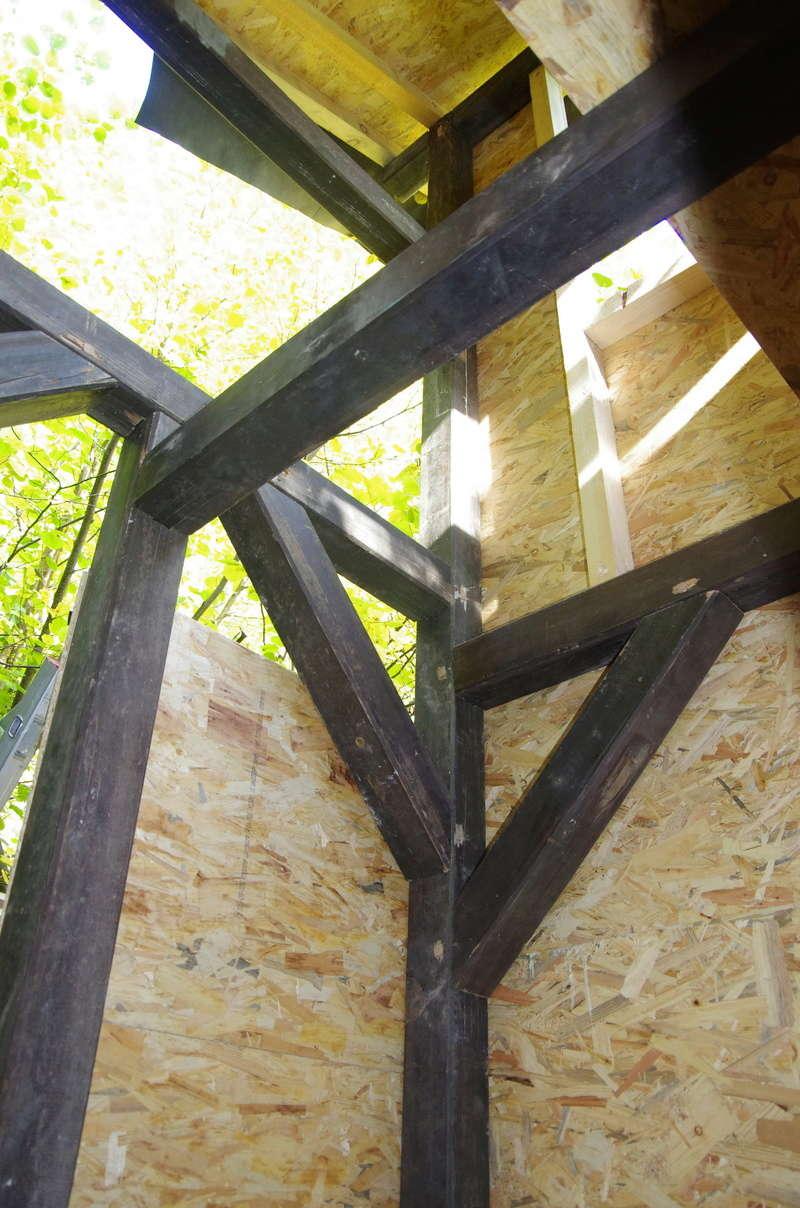 Cabane enfants à 2 étages par marc68 Cabane23