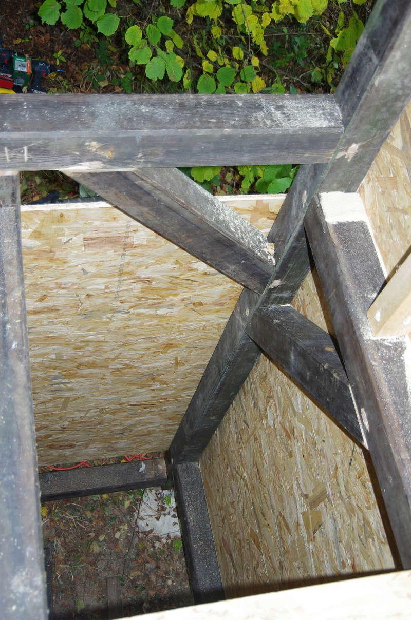 Cabane enfants à 2 étages par marc68 Cabane28