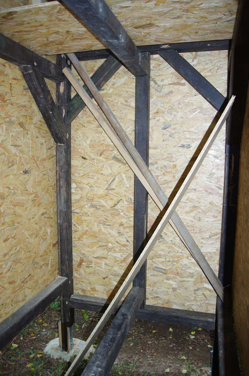 Cabane enfants à 2 étages par marc68 Cabane29
