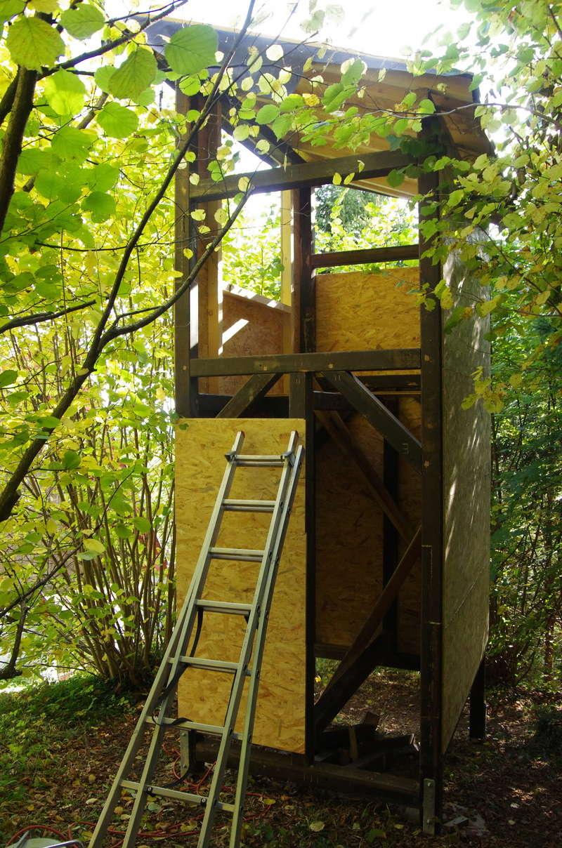 Cabane enfants à 2 étages par marc68 Cabane33