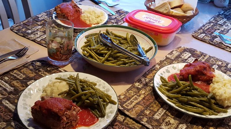 Pains de viande poireaux, bacon et fromage(donne 2) 20170112