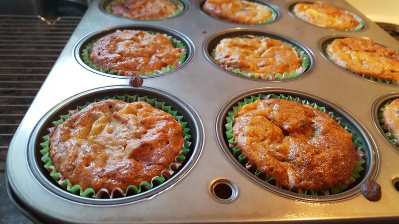 Muffins aux bananes et Fibre 1 20170116