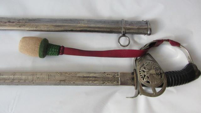 Sabre KD 89 à lame gravée du 3ème chasseur à cheval Img_6156