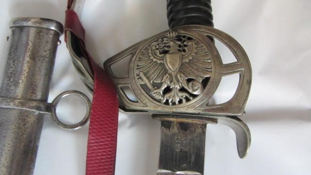 Sabre KD 89 à lame gravée du 3ème chasseur à cheval Img_6158