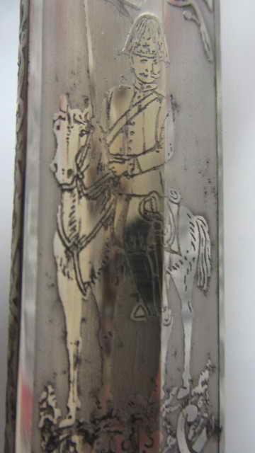 Sabre KD 89 à lame gravée du 3ème chasseur à cheval Img_6162