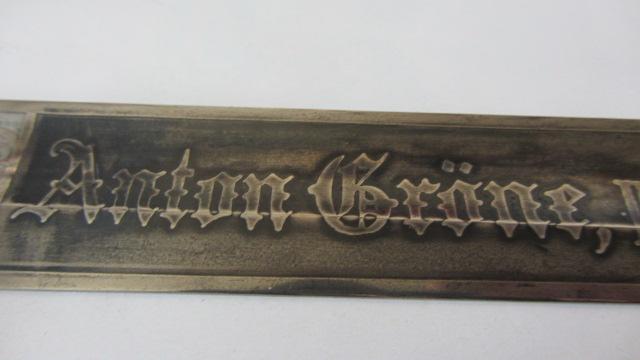 Sabre du 69ème régiment d'artillerie de campagne à lame gravée Img_6173