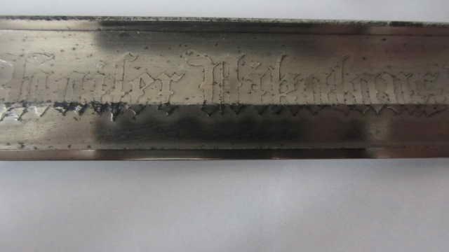 Sabre du 6ème cuirassier à lame gravée Img_6223